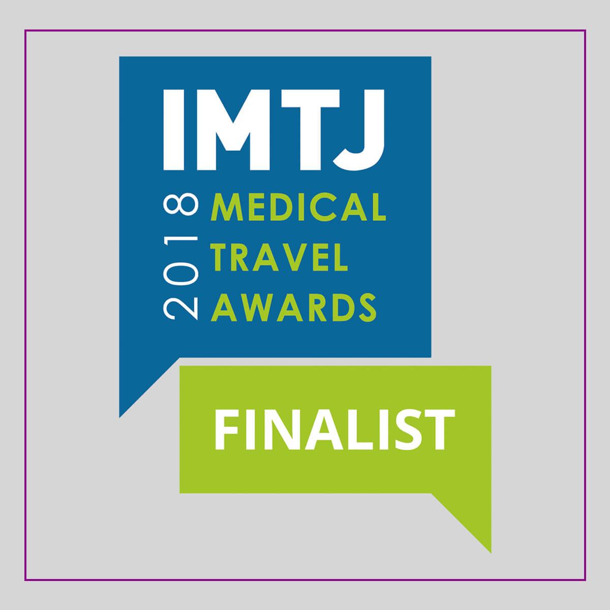 2018 Medical Travel Awards Finalist