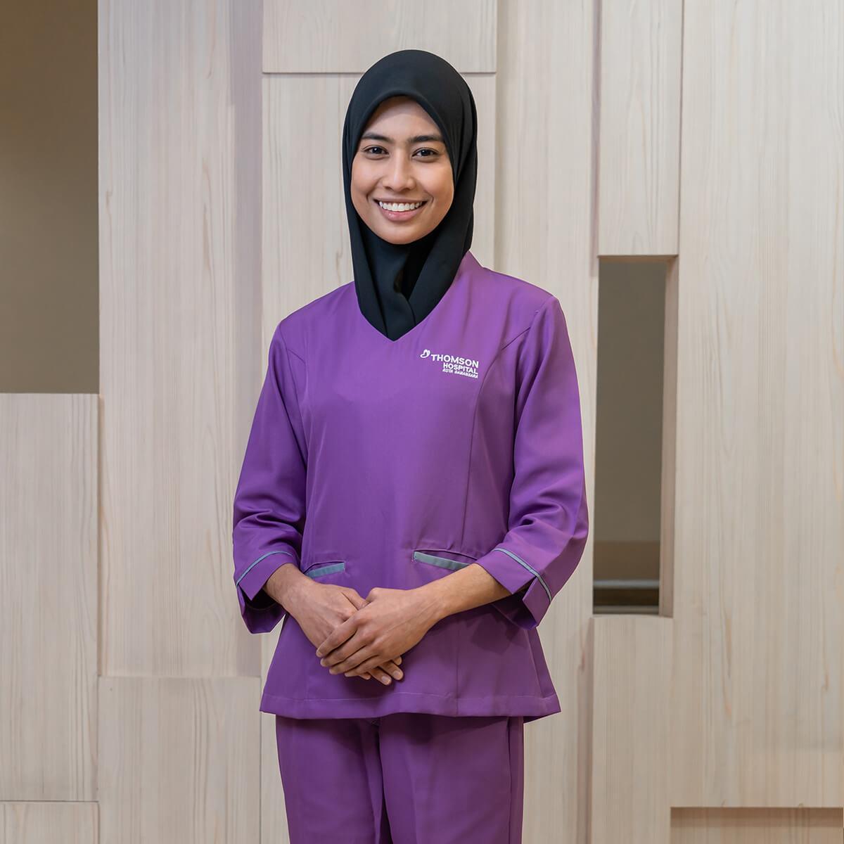 Career as Nurse at Thomson Hospital