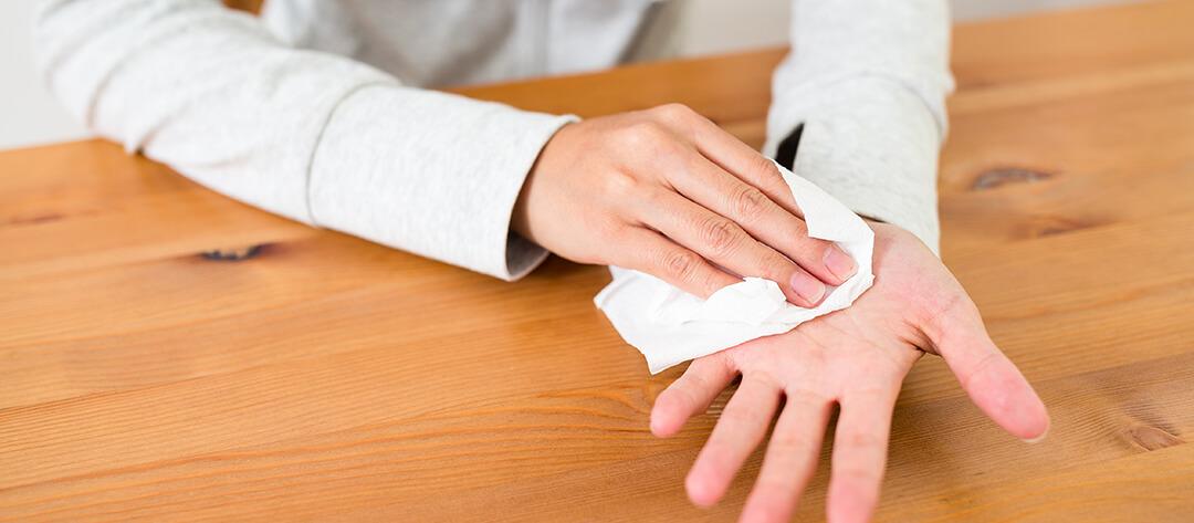 Doctor Articles Palmar Hyperhidrosis Header