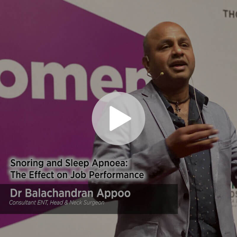 Snoring and Sleep Apnoea The effect on job performance
